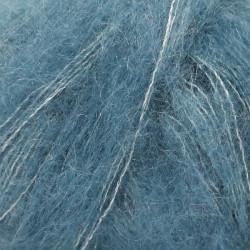 Drops kid-silk UNI farve 27 jeansblå