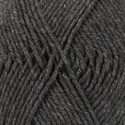 Drops Merino Extra Fine MIX farve 03 mørkegrå