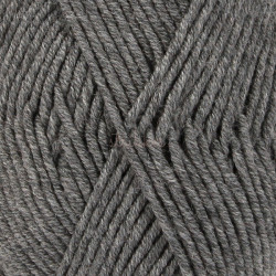 Drops Merino Extra Fine MIX farve 04 mellemgrå