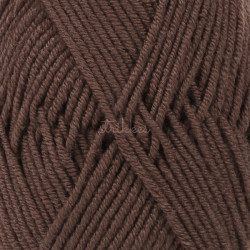 Drops Merino Extra Fine UNI farve 09 mørkebrun