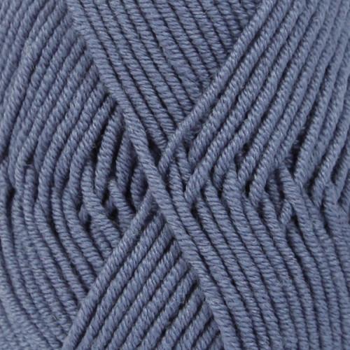 Drops Merino Extra Fine UNI farve 13 denim blå