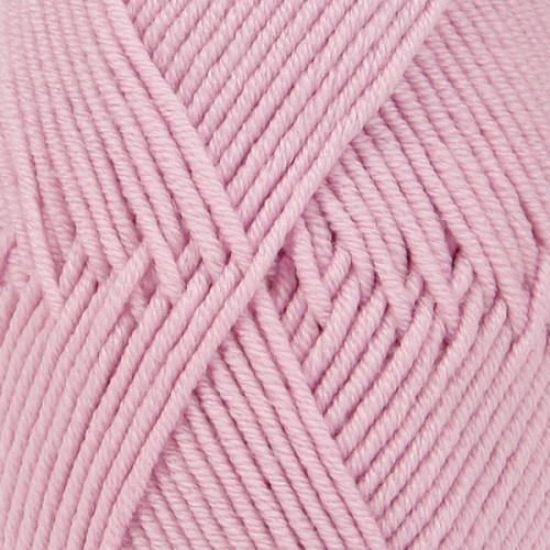 Drops Merino Extra Fine UNI farve 16 lys rosa