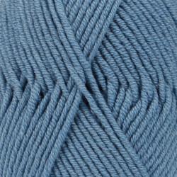 Drops Merino Extra Fine UNI farve 23 gråblå