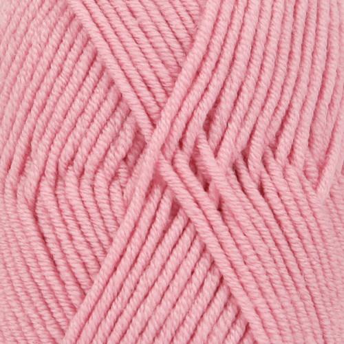 Drops Merino Extra Fine UNI farve 25 rosa