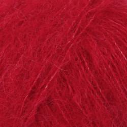 Drops Brushed Alpaca Silk UNI 07 rød