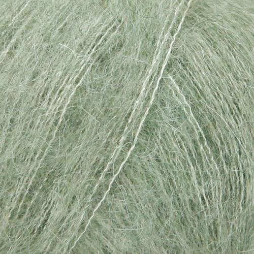 Drops kid-silk UNI farve 34 salvie grøn