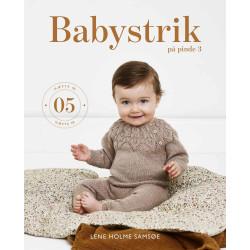 Babystrik på pinde 3, hæfte 5 - Lene Holm Samsøe bog