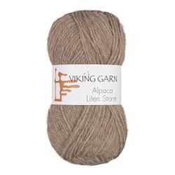 Viking Alpaca Lille Storm. Farve 707, lys brun