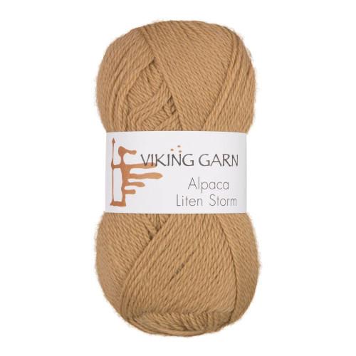 Viking Alpaca Lille Storm. Farve 709, gyldenbrun