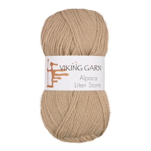 Viking Alpaca Lille Storm. Farve 710, beige