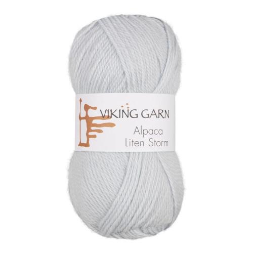 Viking Alpaca Lille Storm. Farve 720, lys blå