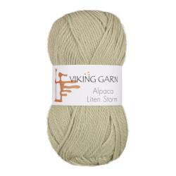 Viking Alpaca Lille Storm. Farve 736, grågrøn