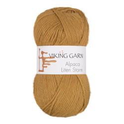 Viking Alpaca Lille Storm. Farve 746, sennep