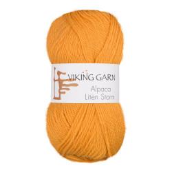 Viking Alpaca Lille Storm. Farve 751, majsgul