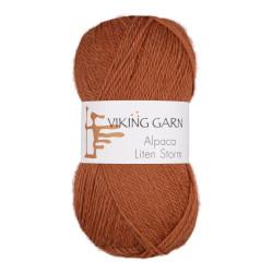Viking Alpaca Lille Storm. Farve 753, brændt orange