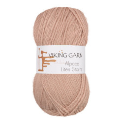 Viking Alpaca Lille Storm. Farve 762, pudderrosa