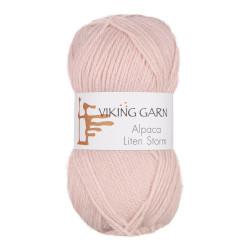 Viking Alpaca Lille Storm. Farve 764, lys rosa