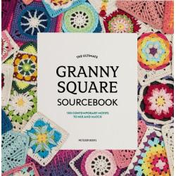 100 forskellige bedstemor firkanter, Granny square, engelsk