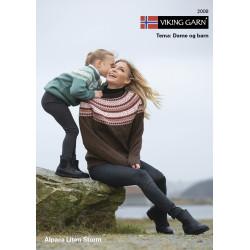 Viking katalog 2008 - Dame og piger, Viking Alpaca Lille Storm