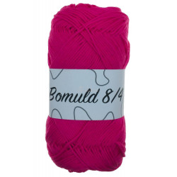 Bomuld 8/4. Farve 49, pink