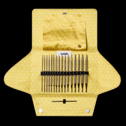 AddiClick Mix Basic + Lace, 8 sæt udskiftelige rundpinde, 3,5 - 8mm