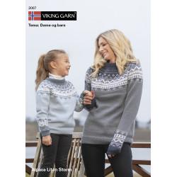 GRATIS Viking katalog 2007 - damer og piger, Viking Alpaca Lille Storm UDEN OPSKRIFTER