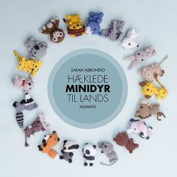 Hæklede minidyr til lands, bog af Sarah Abbondio