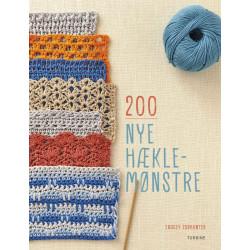 200 nye hækle-mønstre af Tracey Todhunter
