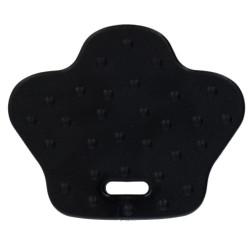 Bidering BPA-fri silikone, andefødder, 6,8 x 5,7 cm, sort. 2 stk pr pk