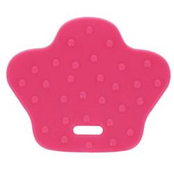 Bidering BPA-fri silikone, andefødder, 6,8 x 5,7 cm, hot pink. 2 stk pr pk
