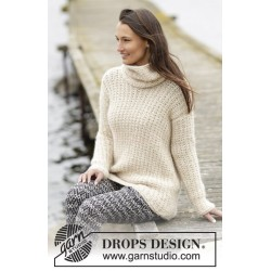 Winter Greeting by DROPS Design S-XXXL DROPS CLOUD