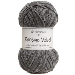 Bohème Velvet fine, Mørkegrå