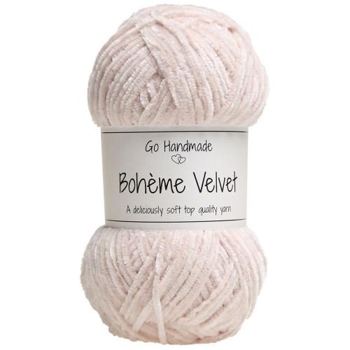Bohème Velvet fine, Sand