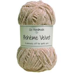 Bohème Velvet fine, Nude