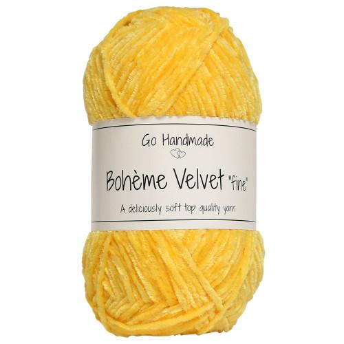 Bohème Velvet fine, Giraf gul