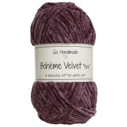 Bohème Velvet fine, Mørk lavendel