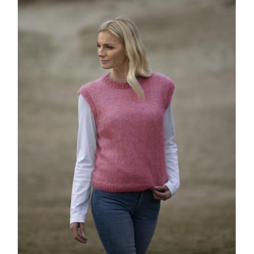 """Clara"" Pullover - Viking Design 2012-6B Kit - XS-XXL - Viking Kid-Silk"