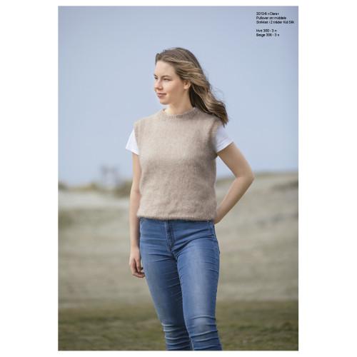 """Clara"" Pullover - Viking Design 2013-6 Kit - XS-XXL - Viking Kid-Silk"