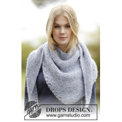 Image of   Loving embrace by drops design one-size drops air garn drops sjaler
