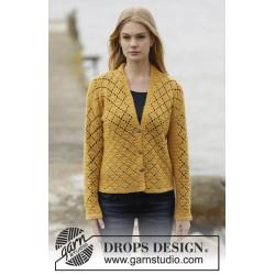 Vintage Honeycomb by DROPS Design S-XXXL DROPS ALPACA