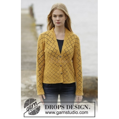 Vintage Honeycomb by DROPS Design S-XXXL DROPS ALPACA