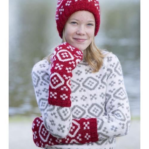 """""""Team Ingebrigtsen"""" Vanter - Viking Design 1820-4 Kit - 10-12 år - Viking Alpaca Storm"""