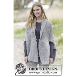 Afternoon Hug by DROPS Design S-XXXL DROPS ALPACA BOUCLÉ