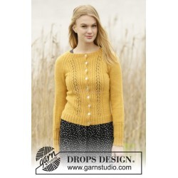 Sweet As Honey by DROPS Design S-XXXL DROPS ALPACA