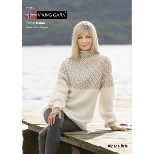 GRATIS Viking katalog 2022 - Dame, Viking Alpaca Bris UDEN OPSKRIFTER