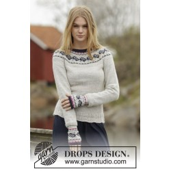 Vintage Rose by DROPS Design S-XXXL DROPS ALPACA