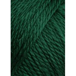 Lang Yarns Carpe Diem. Farve 118, mørk grøn mélange