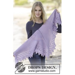 Lavendula by DROPS Design One-size DROPS ALPACA