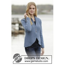 Image of   Dinner date by drops design s-xxxl drops lima garn cardigan