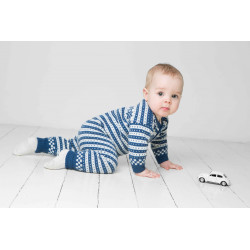 Heldragt - Viking Design 1404-2 Kit - 3 Mdr.-4 År - Viking Baby Ull